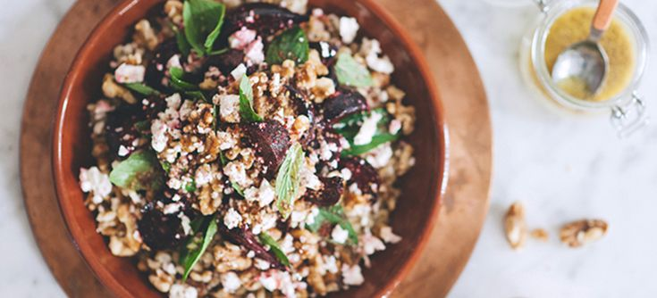 The combination of these Middle Eastern roasted ingredients creates a rustic and hearty salad with vibrant colour bursting with flavour and nutrition. Great for BBQ's or Summer entertaining.