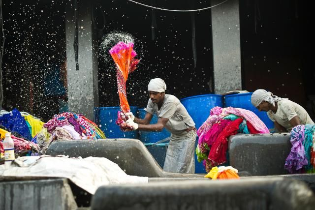 Take A Look At The Laundry Routines Around The World: Dhobi Ghat, Mumbai, India