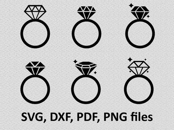 Engagement Ring Svg Diamond Ring Svg Diamond Ring Svg Diamond Ring Icon Silhouette Digital File Svg Png Dxf Wedding Ring Svg Bundle In 2021 Ring Icon Starbucks Wedding Diamond Ring