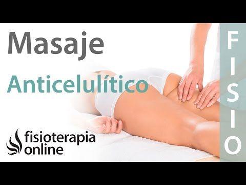 Cómo hacer un masaje anticelulítico y reductor de pierna, cadera o muslo (eliminar celulitis) - YouTube