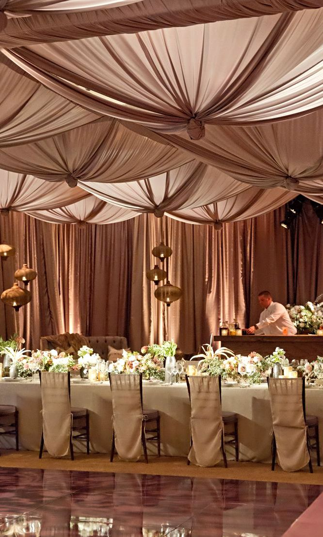Wedding reception ceiling decorations for Wedding reception decoration ideas