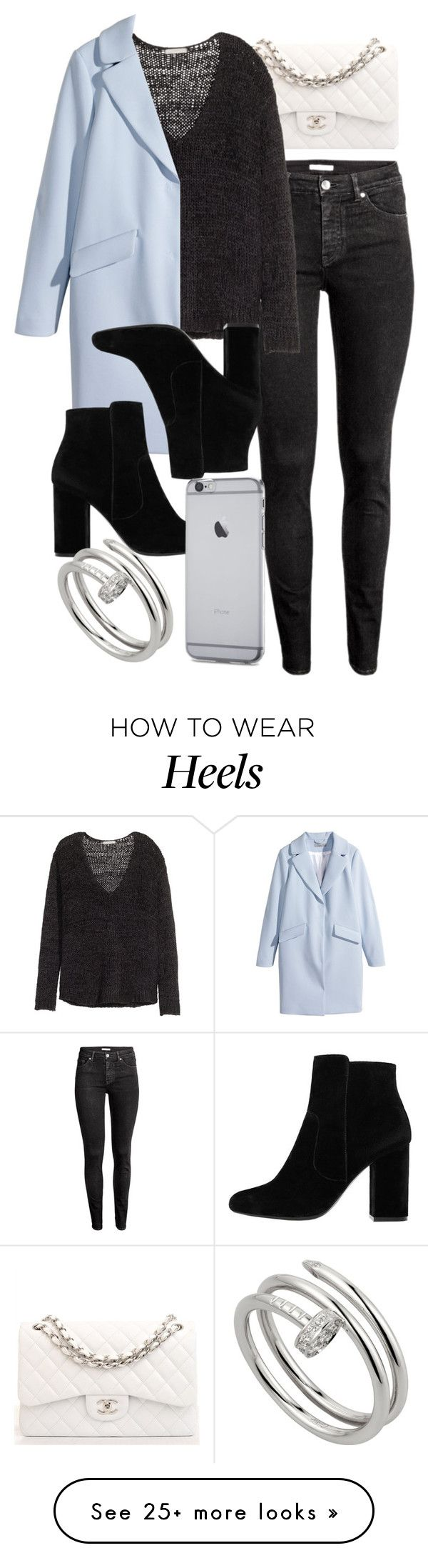 """""""Style #11682"""" by vany-alvarado on Polyvore featuring H&M, Chanel, MANGO and Cartier"""