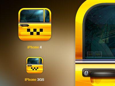 Next Taxi App by Egor Kosten