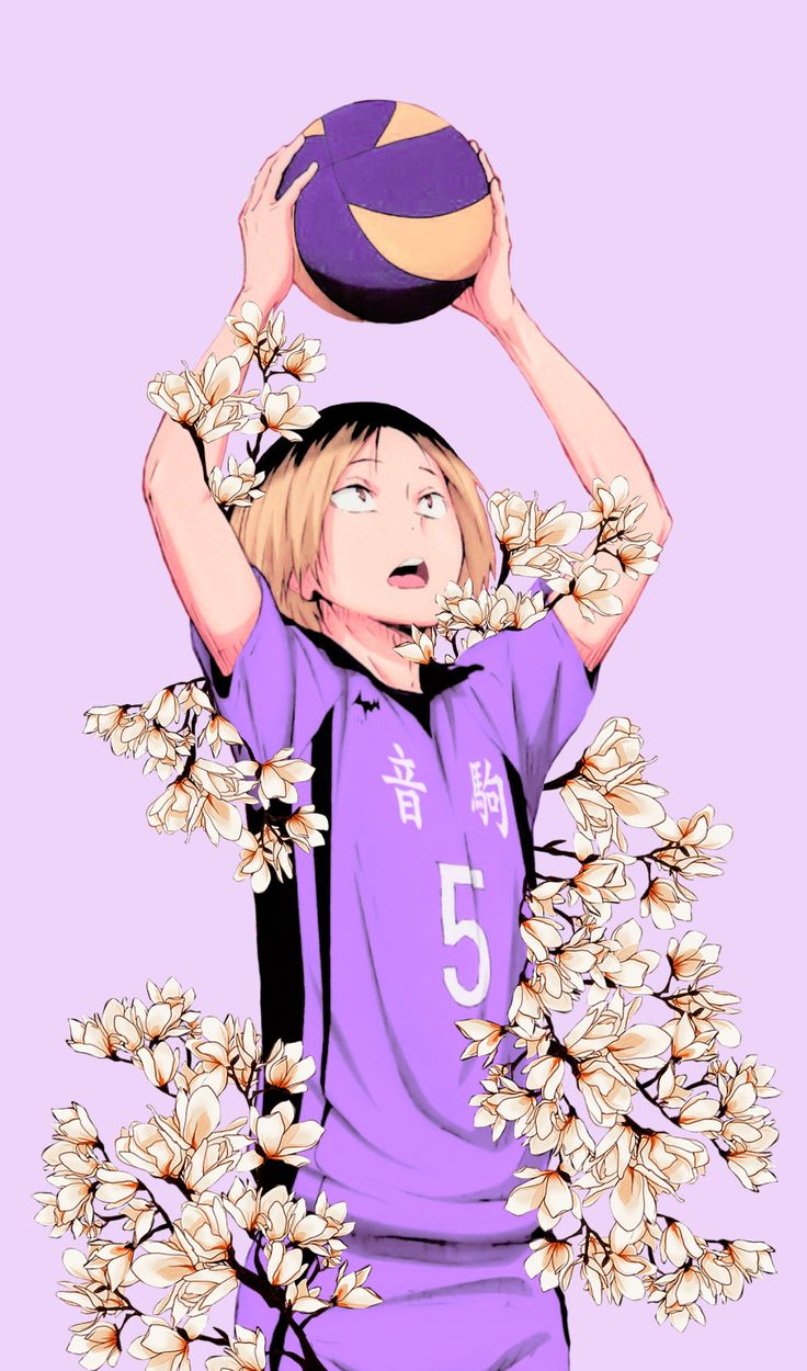 Cute Doodle Wallpaper For Iphone Tobiohchan Kenma Kozume Mobile Wallpapers Scan Credit