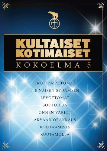 Kultaiset kotimaiset - Kokoelma 5 (DVD)
