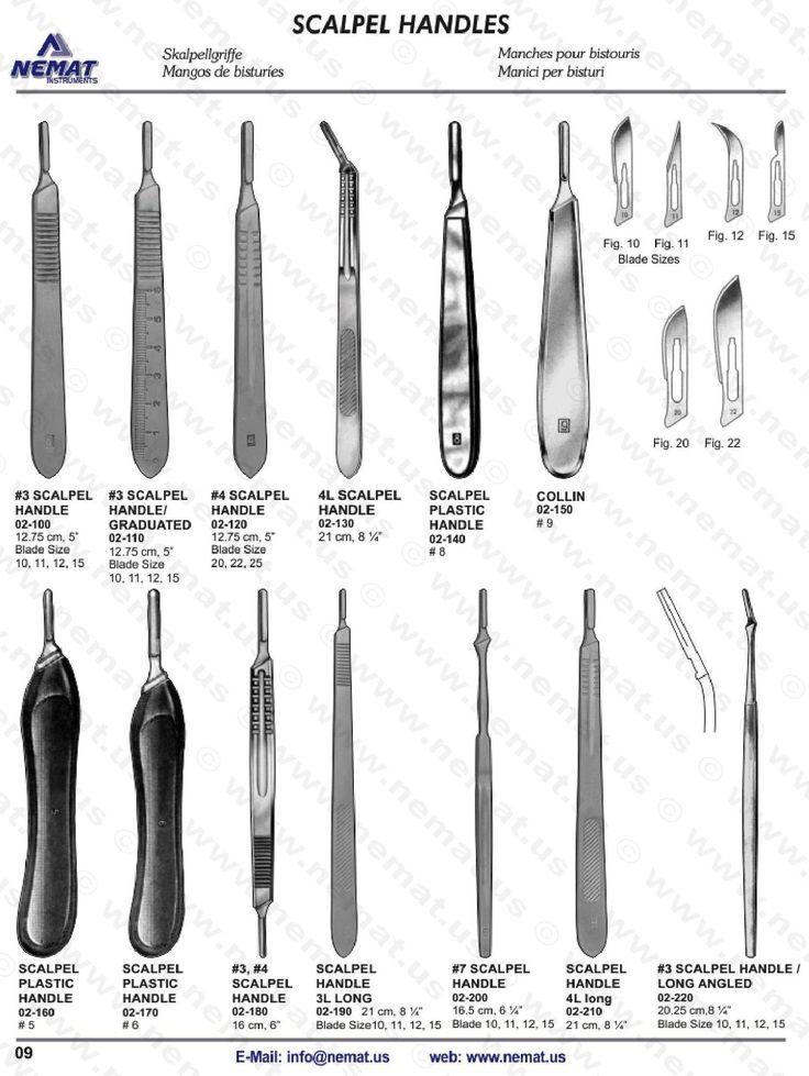 SCALPEL HANDLES ECatalog Surgical Instrument Surgical