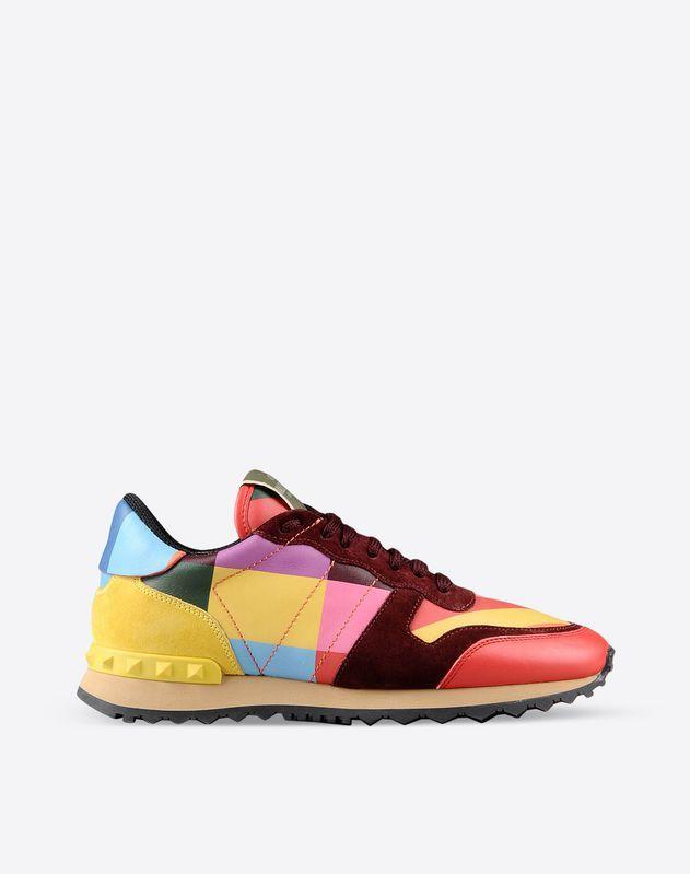 Sueded, Multicolour Pattern, Laces, Rubber sole, Visible logo ,