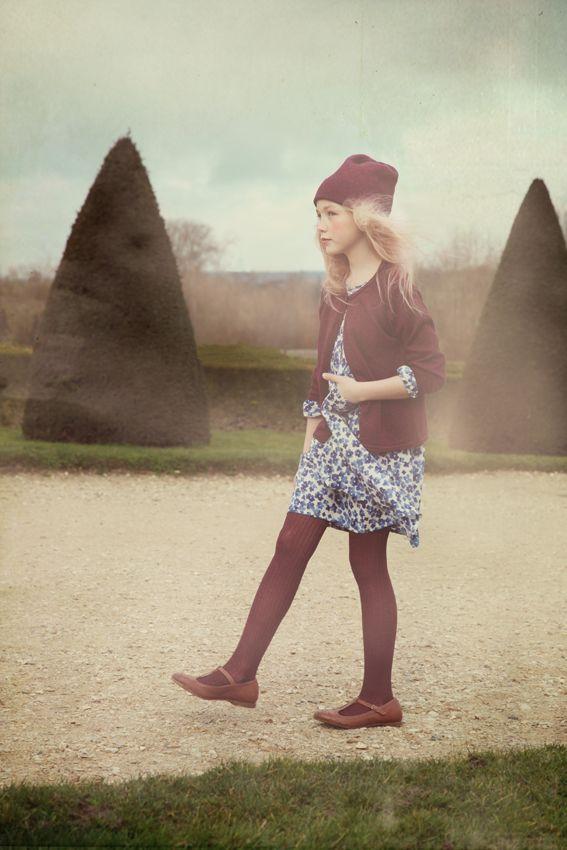Noro French kids fashion for fall 2014 beautifully shot by Wanda Kujacz