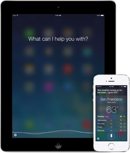 "Apple SIRI ""Your wish is its command"" • send msg / schedule / call • VOICE with a difference: talking the way you talk & understanding what you say/mean, even talks back • all through A.I. (Artificial Intelligence) • your digital (free) secretary/MoneyPenny/assistant: from dictation to news / finder / player / eye-free driving etc. • depicted: UI"