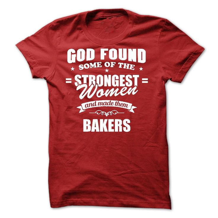 Strongest women tee for Bakers