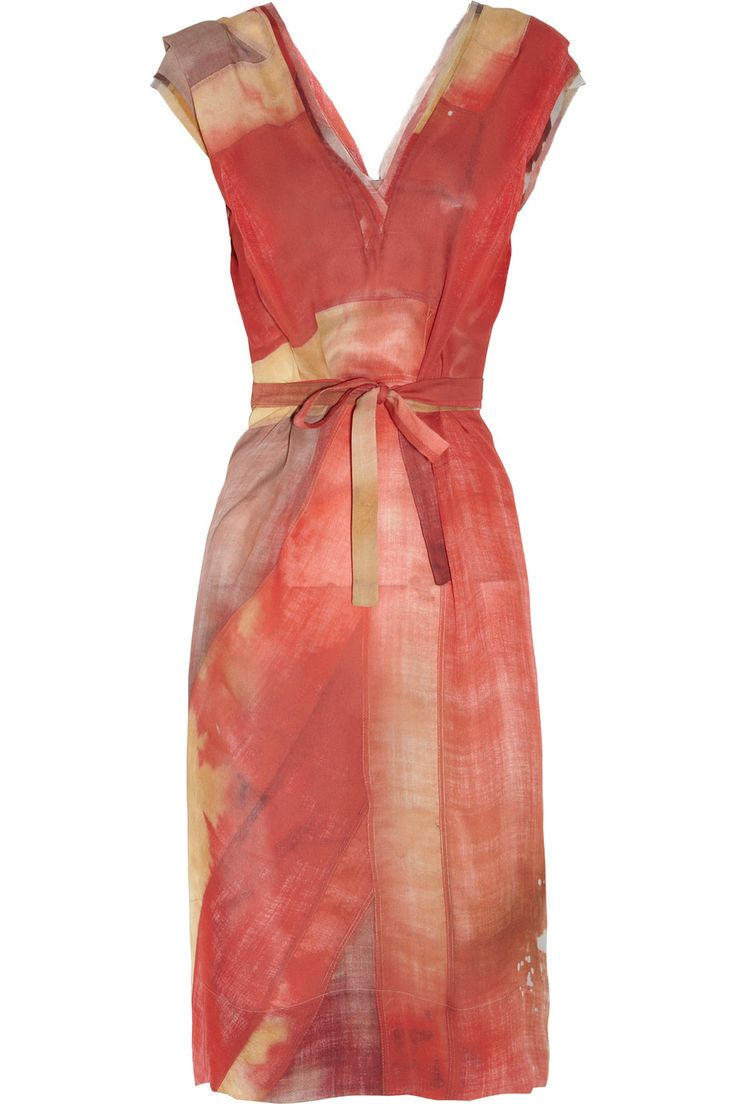 Vivienne Westwood: Jack Print Silk Chiffon, Westwood Gold, Vivienne Westwood, Label Tuck, Chiffon Dresses, Tuck Union
