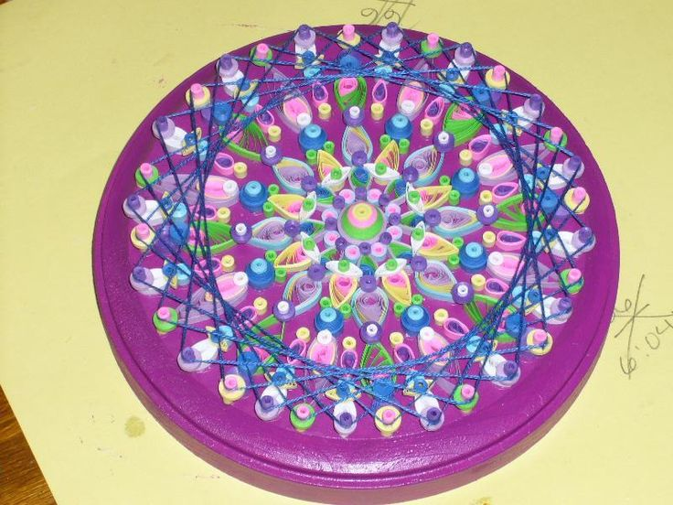25 best images about quilling mandalas on pinterest for Quilling paper craft ideas