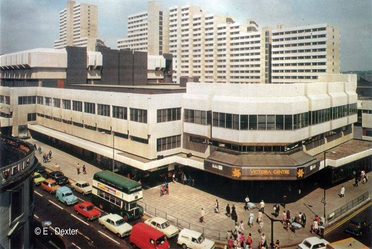 The glorious Victoria Centre 1970s