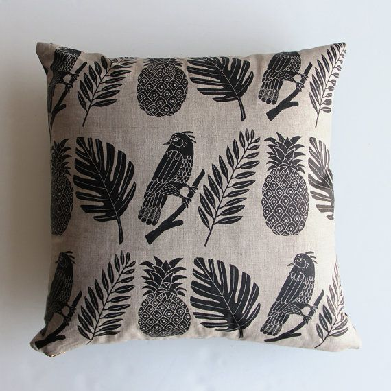 Tropical Pillow by ameliemancini on Etsy, $75.00