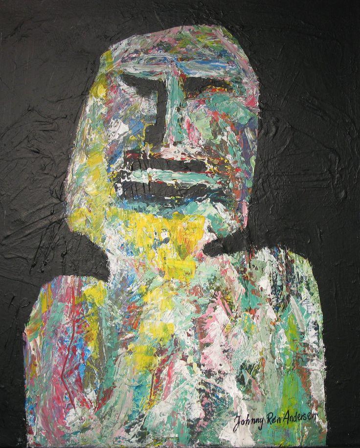 Maleri Oddemann 50x60 cm