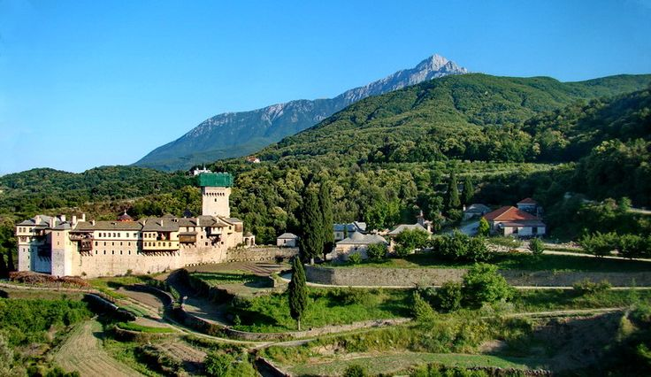 TRAVEL'IN GREECE I #Karakallou Monastery, Mount #Athos, #Greece