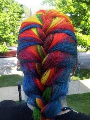 La moda en tu cabello: ¡¡Cabello multicolor!! inspiración rebelde y desenfadada