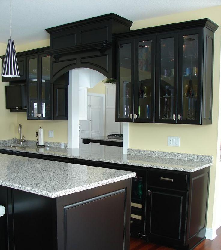 69 best kitchen ideas images on pinterest home ideas my for Black colour kitchen designs