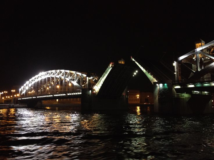 Night in Saint Petersburg