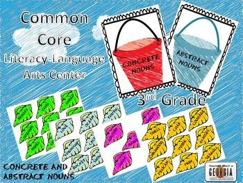 $3This is a folder-type game created for students to practice identifying concrete and abstract nouns. Using the two bucket sheets, students will sor...: Student