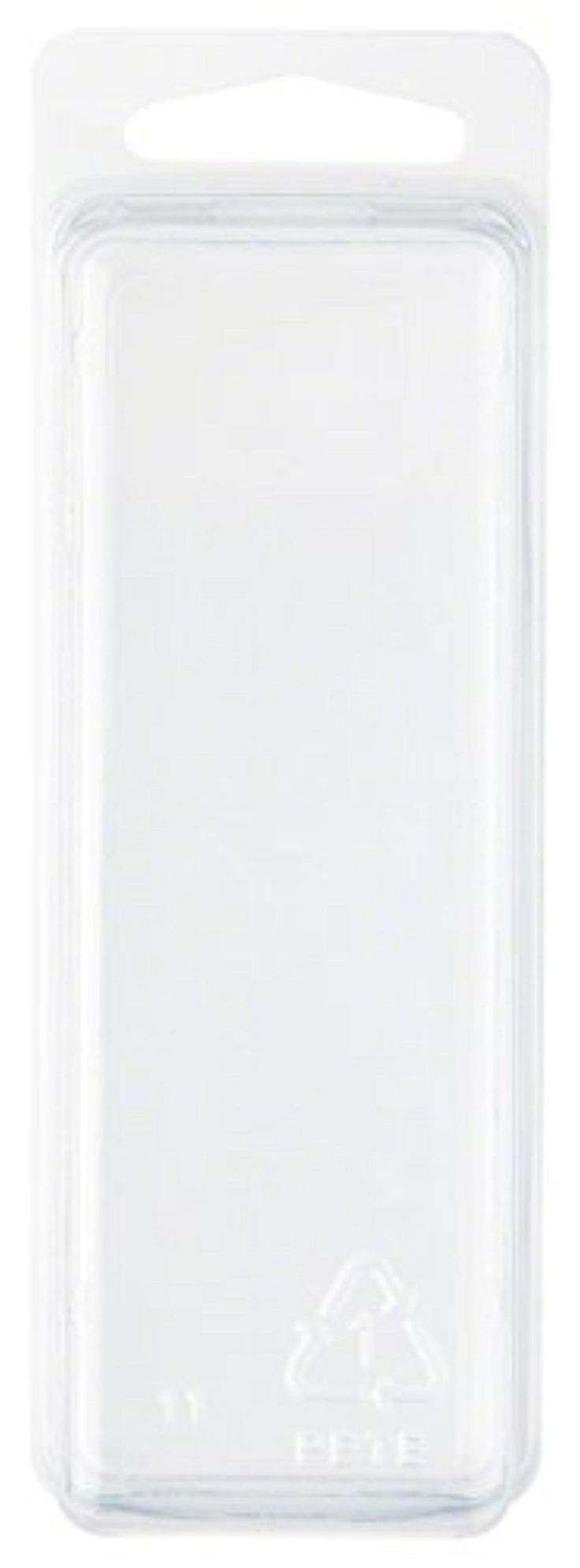 """Clear Plastic Clamshell Package / Storage Container, 4.19"""" H x 1.5"""" W x 1.25"""" D - Brought to you by Avarsha.com"""