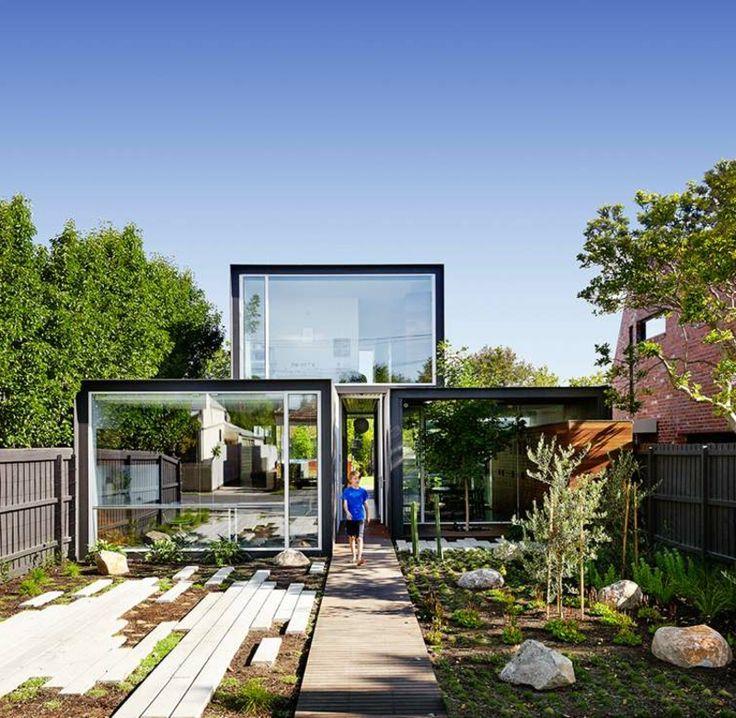 206 besten architektur hauser bilder auf pinterest for Moderne architektur wohnhaus