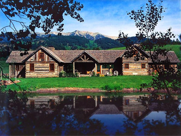 17 best images about montana ranch homes on pinterest for Cabin builders montana