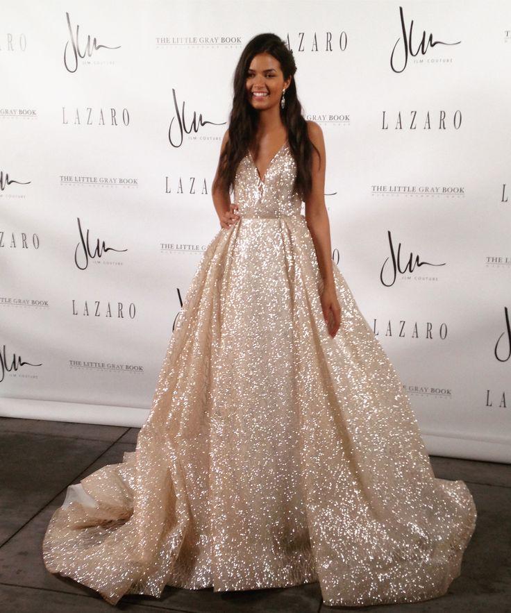 Lazaro wedding gown Style 3662