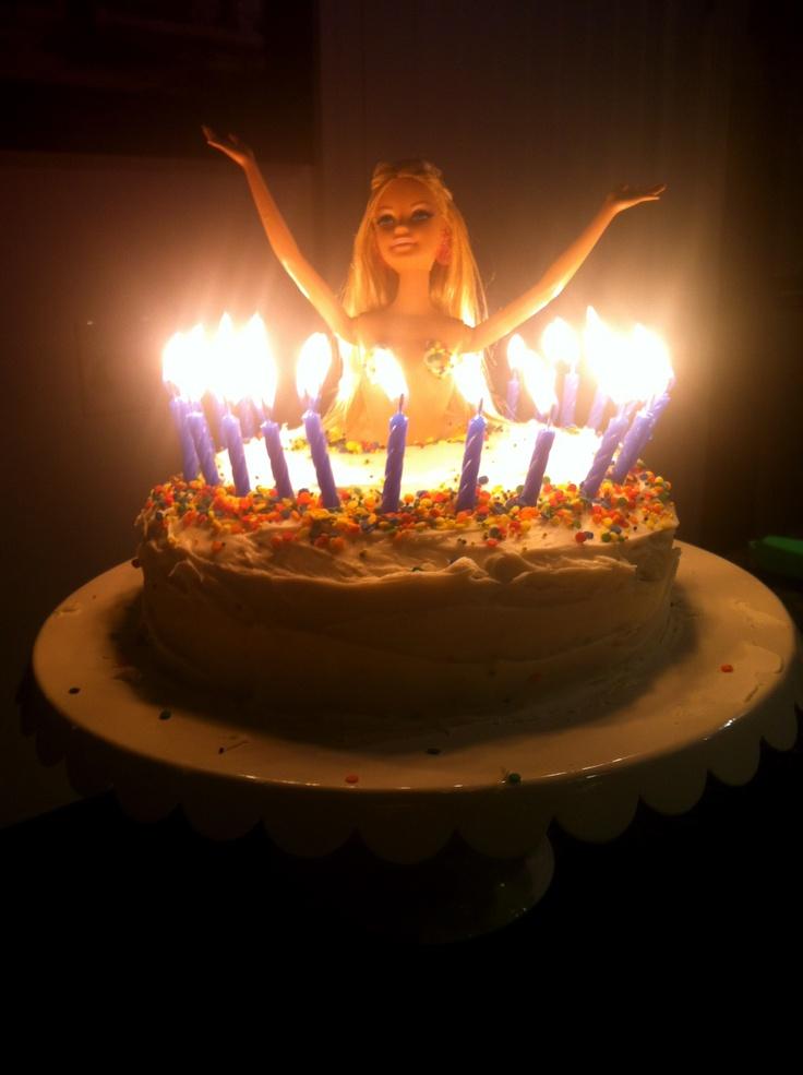 Cake I made for my husbands birthday! Stripper cake : )