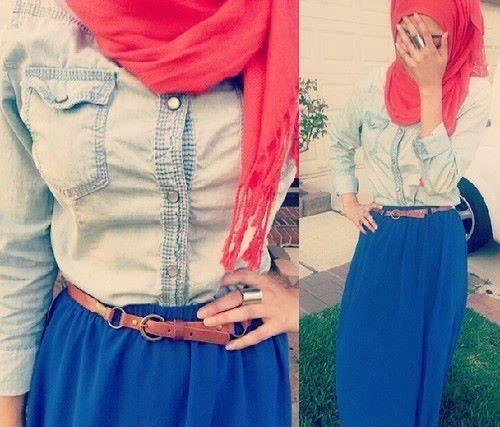 Hijab Style Color