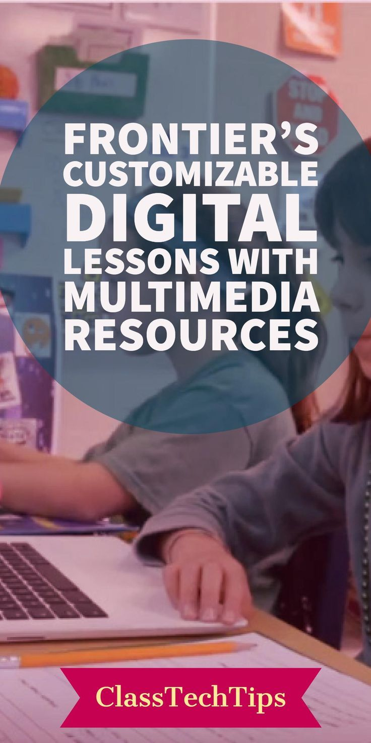 Have you used digital lessons in your classroom? Frontier provides teachers with the framework and resources needed to plan engaging writing and reading lessons for Grades 3-8. lesson plan, teacher website, video lessons