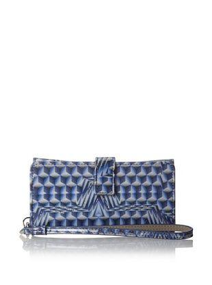 56% OFF LODIS Women's Vine Street Cassie Phone Case/Wristlet, Sapphire