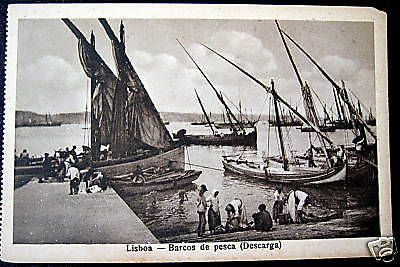 Portugal~1900's #lisboa ~ barcos de #pesca  #fishing boats,  View more on the LINK: 	http://www.zeppy.io/product/gb/2/330351842063/