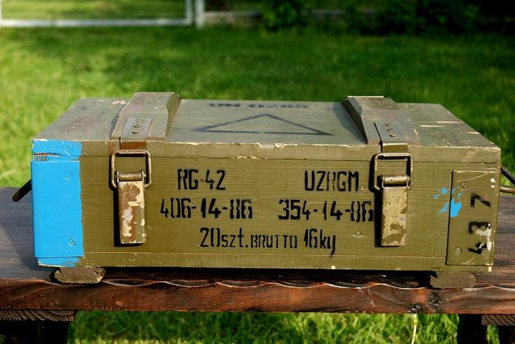 Vintage Wooden Military Box Wood Explosive Box Grenade Ammunition Army Salvage Ammo Chest Loft Wooden Trunk Coffer Table Component Treasury by SlawekTreasures on Etsy