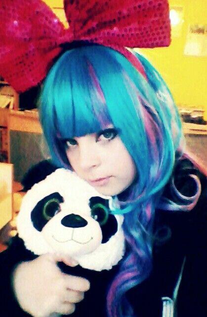 Panda cosplay