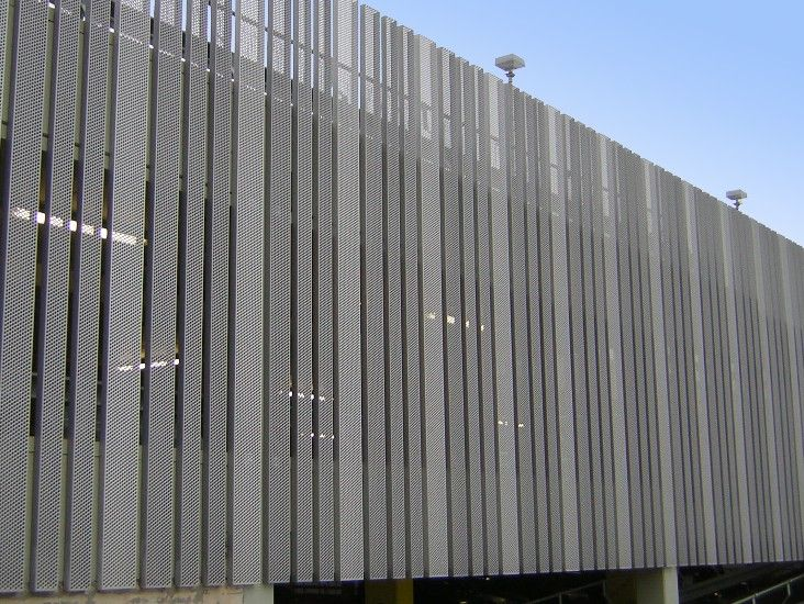 Metal Perforation Cladding Google Search Reference For