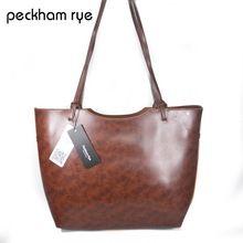 2016 z pravé kůže kabelka žen hovězí kůže kabelka nákupní taška Genunie kožené dámské kabelky dámy fashion taška (Čína (pevninská část))