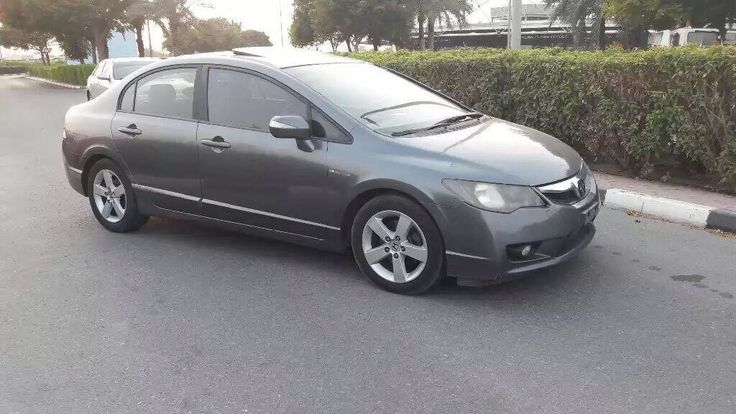 Honda Civic 2010 grey color For sale ~~~~~~ Honda Civic Model year 2010 Mileage 240,000 km Gulf specs Full options Price 17,500 AED ~~~~~~~ For more details please contact us Mob: +971509931...