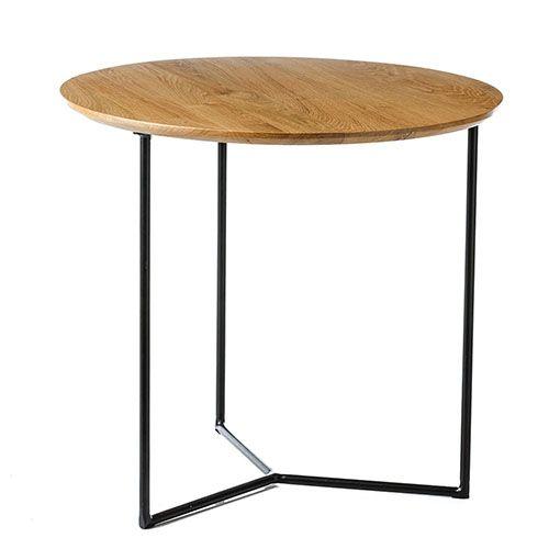 Arc Side Table Oak