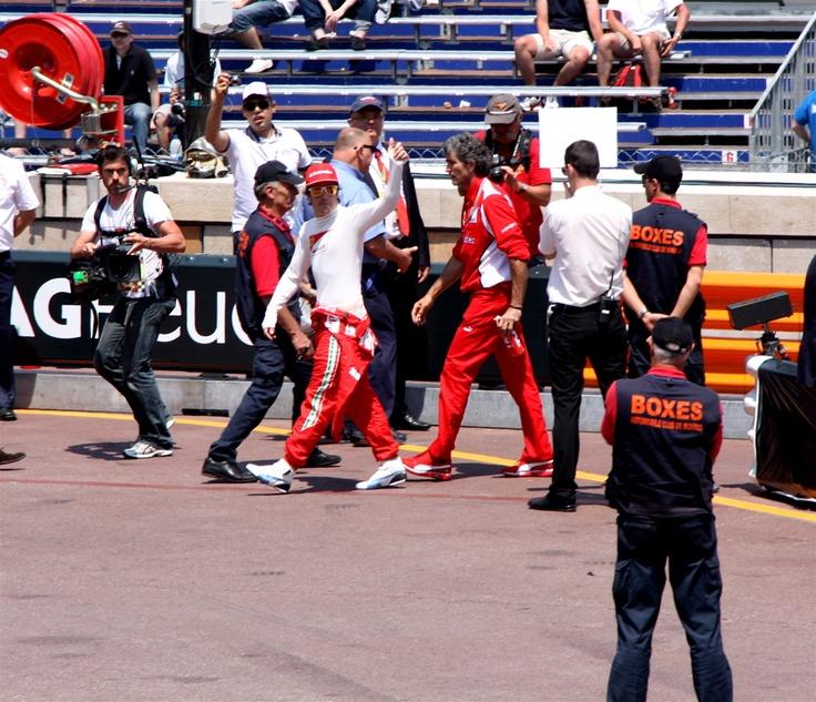 Fernando Alonso in Monaco