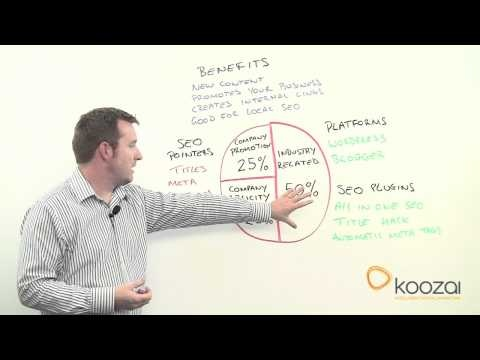 Not the first video I have posted from Koozai, this is another video that provides an unbiased look at what blogging does for your business. Explains the benefits but also the weaknesses and struggles many businesses deal with when developing an online presence. Brendon's Score: 9/10 #blogging #socialmedia #SEO #bloggingforbusiness