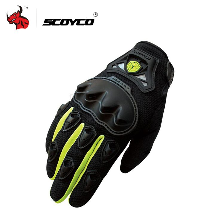 promo scoyco professional motocross off road racing full finger gloves motorcycle riding gloves protective #riding #gear
