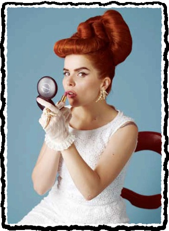 Paloma Faith  Clipped from BUST Magazine #clippings