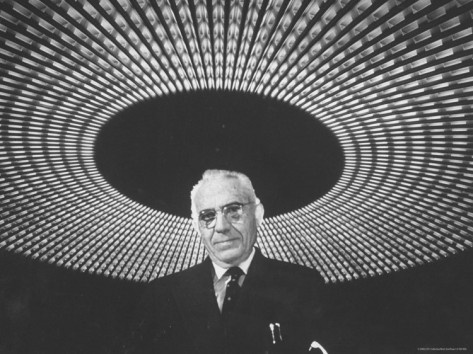 Architect Pier Luigi Nervi.  This image from the archives of LIFE magazine first appeared on August 22, 1960.