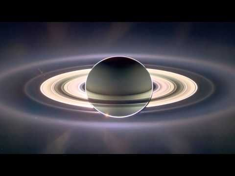 """Carl Sagan's """"Pale Blue Dot"""" as you've never experienced it before-Love him!"""