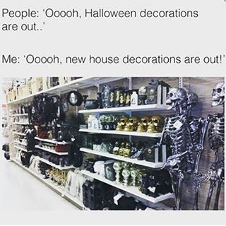 All the decorations! #vampirefreaksofficial #vampirefreaksstore #vf #goth #industrial #alternative #culture #social #gothculture #dark #spooky #punk #music #forums #members #join #models #cults #friends #lifestyle #bodymodifactions #tattoos #piercings #haircolor #fashion #events #halloween #decor #home