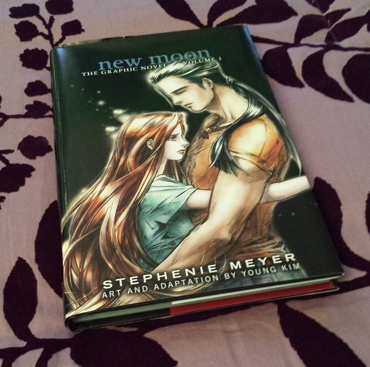 New Moon: The Graphic Novel, Vol. 1 by Stephenie Meyer, art and adaptation by Young Kim (volume 2 not yet released)