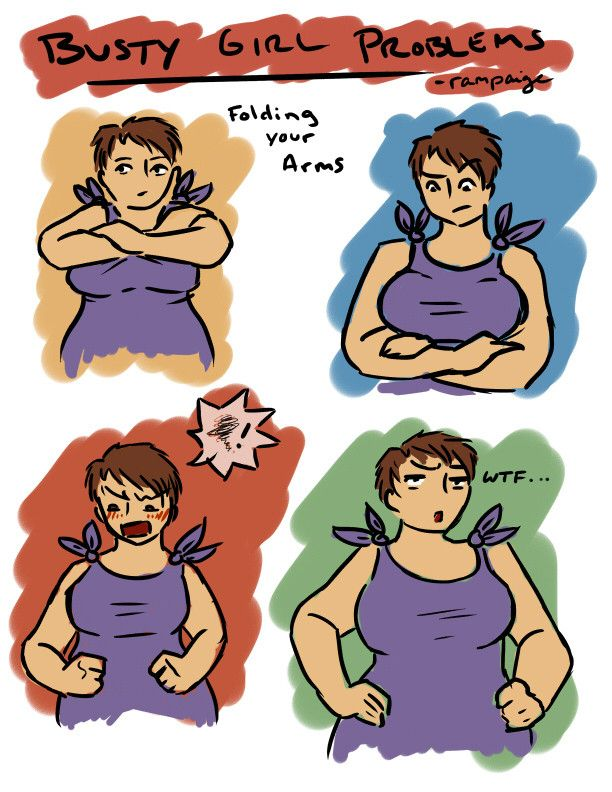 Busty Girl Problems/Perks by Rampaige - Imgur