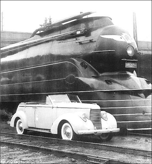 1938 Studebaker State Commander Converible Sedan
