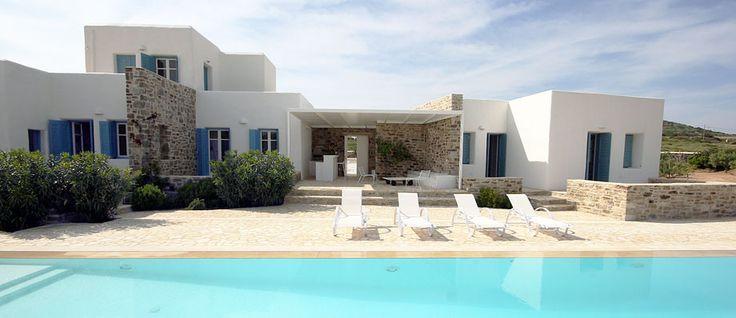 The Sea Vineyard - Isterni - Paros http://www.parosluxuryvillas.com/our-villas/the-sea-vineyard